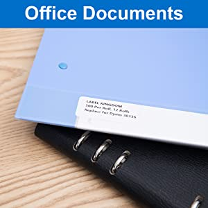 Replace for DYMO 30336 labels-using for office file