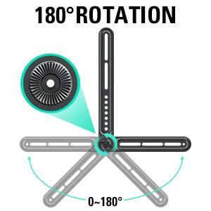 UNIVERSAL SOUND BAR MOUNT BRACKET - 180° ROTATION