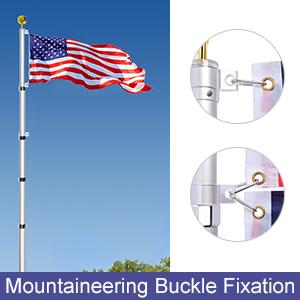 mountaineering buckle fixation