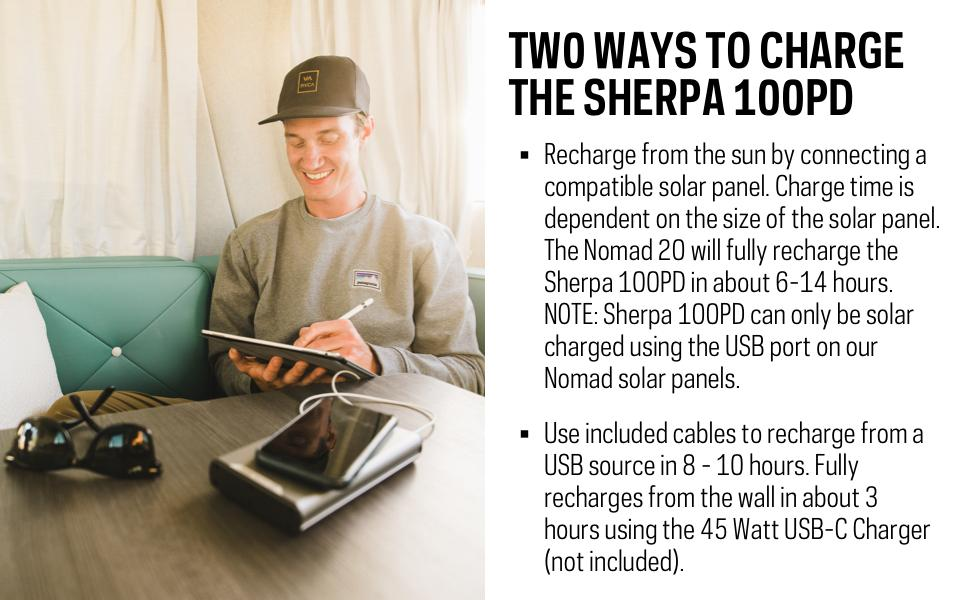 Goal Zero Sherpa 100 PD QI