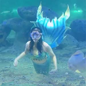 Great Mermaid tail show