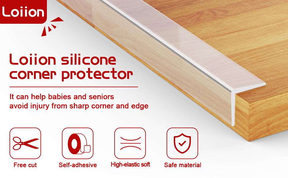 Silicone Corner Guards 1M (2cm)