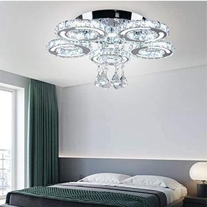 chandelier girls room