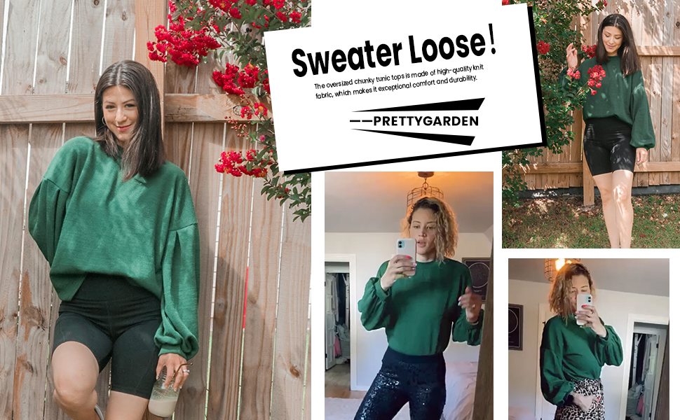 Sweater Loose!