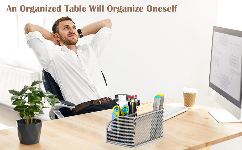 Mesh Desk Organize