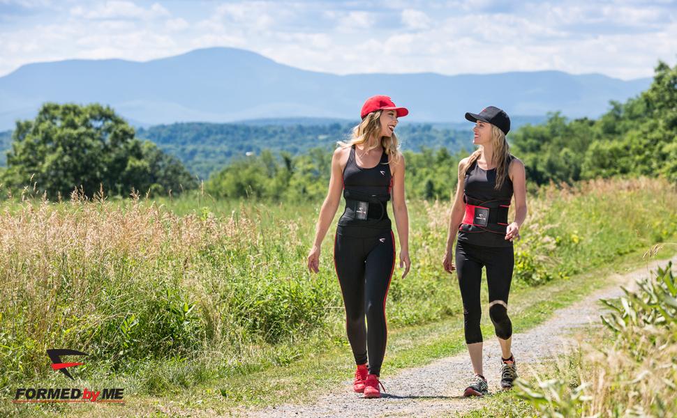 Formed by Me Sweat & Slim Waist Trimmer Waist Trainer Slimming Cream Burn Fat Women Men Enhancer