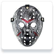 Jason Mask Cosplay Style 4