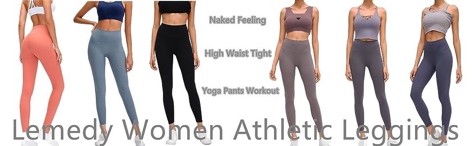 Lemedy Women Athletic Leggings