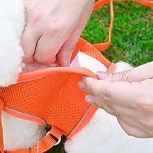 attach the Velcro