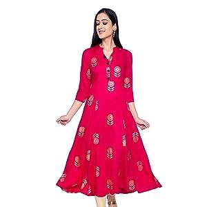 Flared Anarkali Kurta for women party wear
