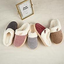 Colorful Memory Foam Slippers