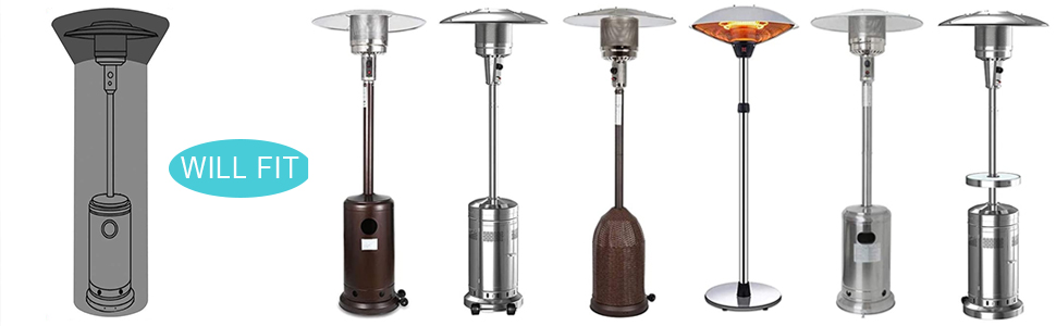 Protect your Pyramid style Patio Heater in style