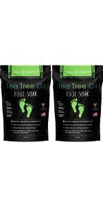 Tea Tree Oil Foot Soak - 2 Pack