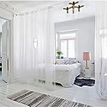 semi voile window treatments long curtain kitchen kids girls living room
