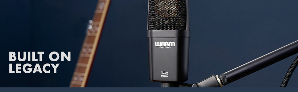 Built on the Warm Audio Legacy