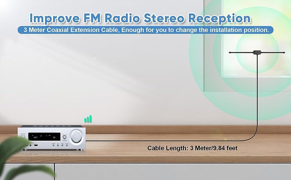 fm receiver antenna