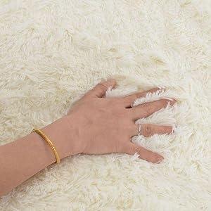 Fluffy area rug soft rug for dorm living room clearance rug thow rug low traffic rug boy room girls