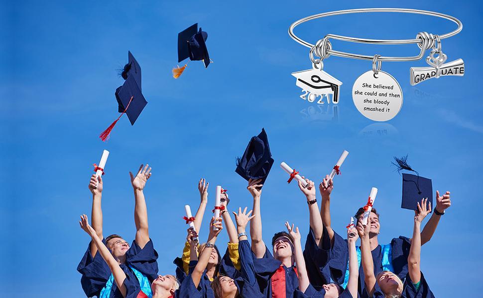 Retractable bracelet graduation season