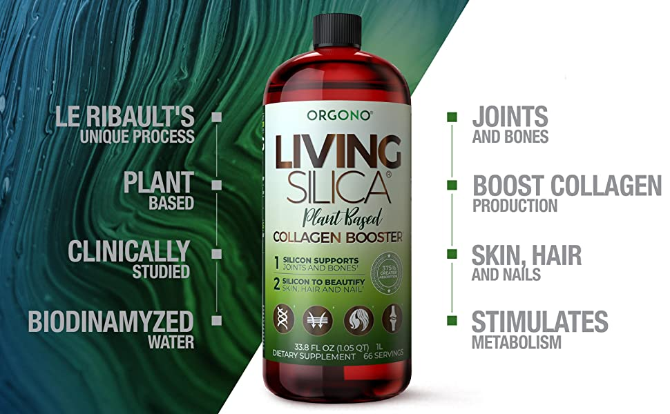 Living Silica Plant Based Collagen Booster 1000ml Benefits