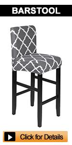 Stretch Bar Chair Stool Covers
