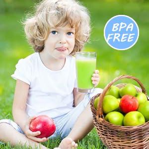 masticating juicer-BPA Free, Drink Safely