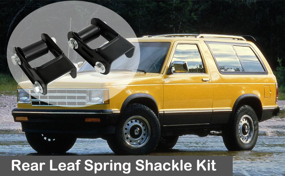 Rear Leaf Spring Shackle Kit LH amp; RH