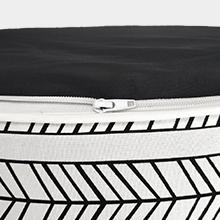 LVTXIII ourdoor/ indoor inflatable ottoman, patio footrest stool, portable for patio garden or home