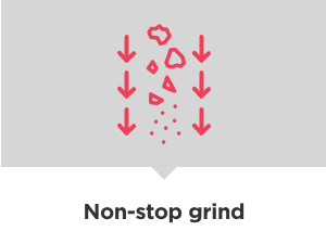 non-stop grind