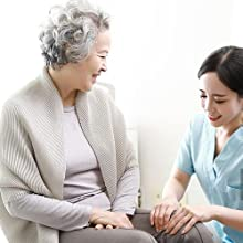 Caregiver Pager Elderly Free Rotation Mailbox Sensor Motion Sensor Pager Alarm Business Entry