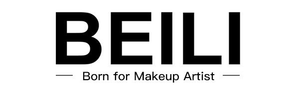 BEILI 15PCS Professional makeup brushes set
