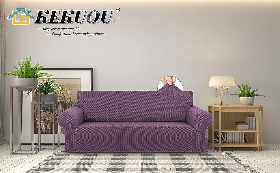 Dark Purple sofa cover L/XL/XXL A+2