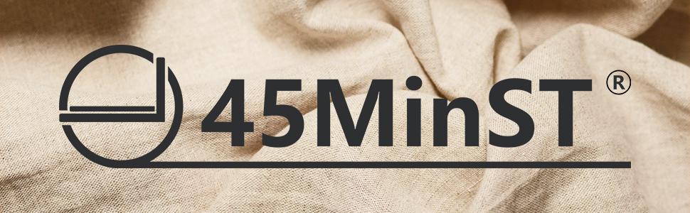 45MinST 14 Inch 3500lbs Heavy Duty Bed Frame/Metal Reinforced Platform/Mattress Foundation