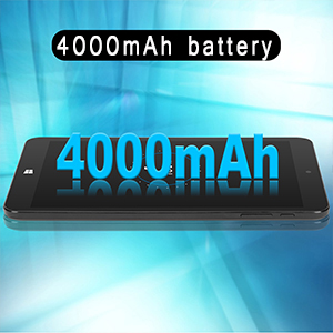 4000mAh Battery Life