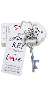 vintage skeleton key bottle opener wedding bottle opener wedding candy boxes wedding favor