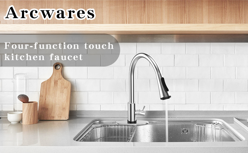 Kitchen smart pull faucet
