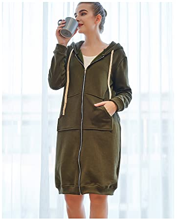 womens hoodies zip up hoodies long sleeve cotton coats sweatshirts jackets for women