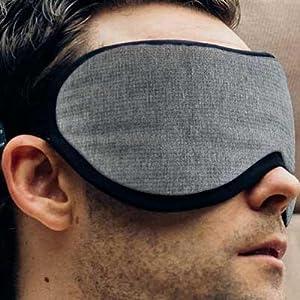 Masters of Mayfair Luxury Grey Sleep Mask