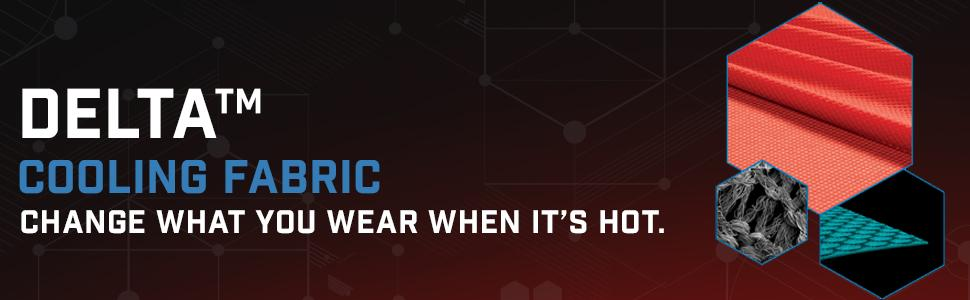 Polartec delta cooling fabric hot weather