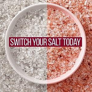 pink salt coarse