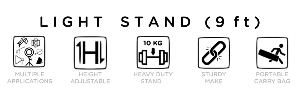 Light Stand - With Bag - Icon