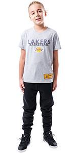 Ultra Game NBA Boys Jersey Active Tee Shirt