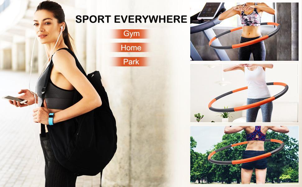 Sanni Exercise Hoops