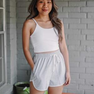AUTOMET Grey Women shorts