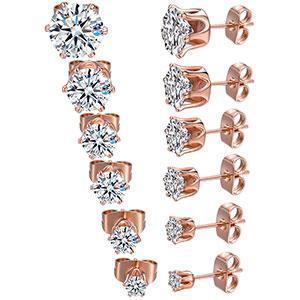 stud earrings, earrings for women,cubic zirconia earrings
