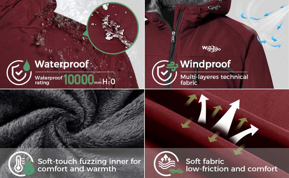 Women's Waterproof Winter Coats