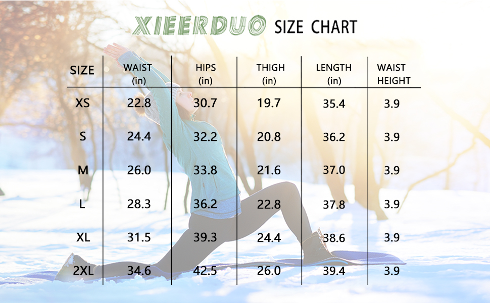 fleece lined leggings hiking workout high waisted leggings pockets water resistant thermal running