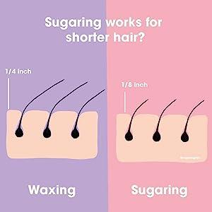 Sugaring vs. Waxing
