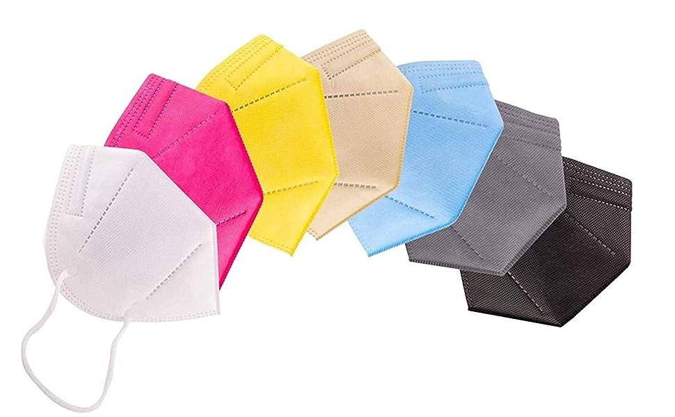 N95 Mask Multicolor