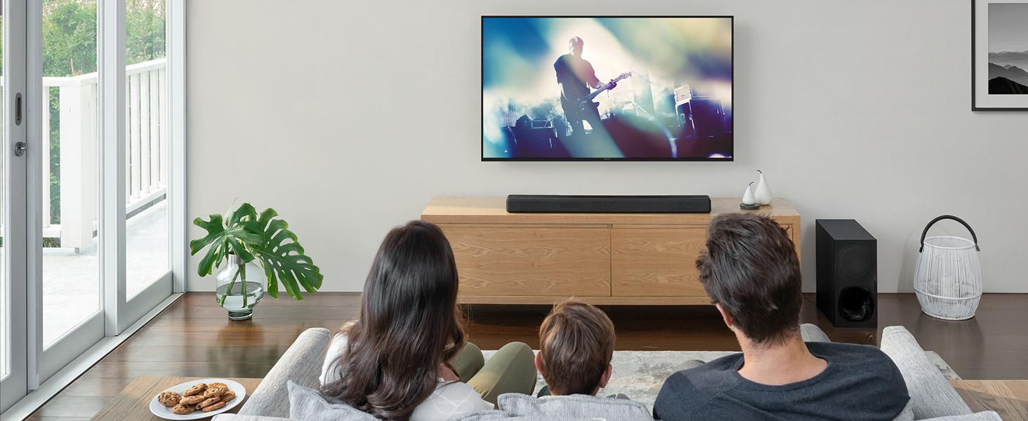 Sound modes to match your entertainment