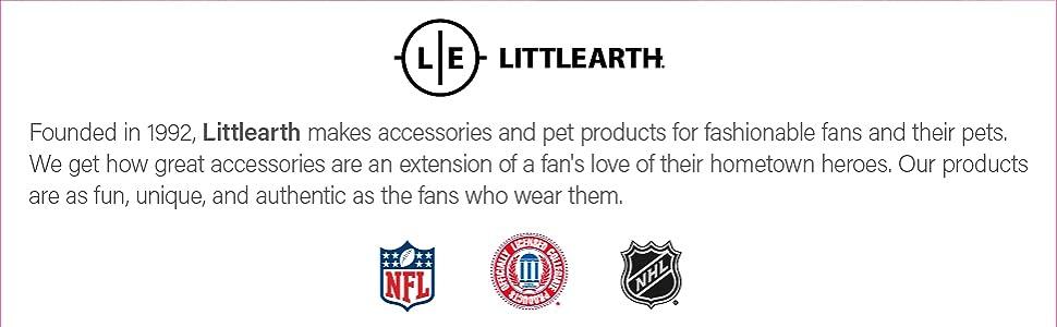 littlearth little earth fashion fan football pet gear stadium leash collar licensed nfl ncaa nhl